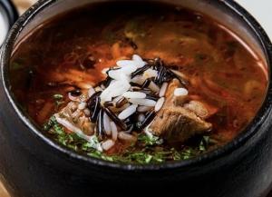 Классический суп харчо из говяжьей грудинки