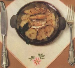 Мойва с картофелем по русски