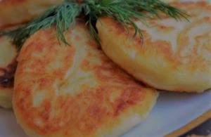 Картофельные котлеты из пюре c грибами