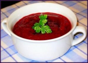 Овощной суп со сметаной