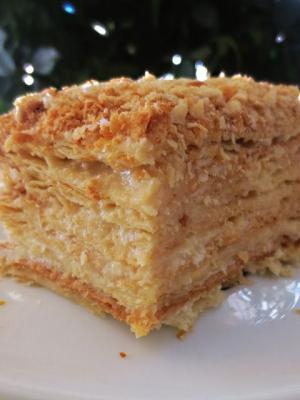 Торт наполеон простой и вкусный рецепт