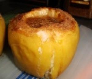Запеченные яблоки в мультиварке