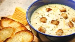 Французский сырный суп
